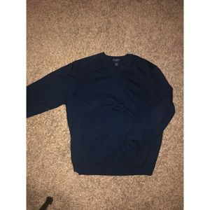 Blue Brooks Brother Stretch Sweater